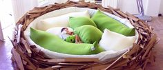 Bird Nest Bed...Or How to be a bird ?