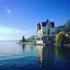 Surround yourself with beauty. {@parkhotelvitznau #vitznau #switzerland} #uncommontravel #lakelucerne #mountrigi