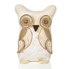 Owl Door Stopper ~ Embroidered details-Need this but in different colors!