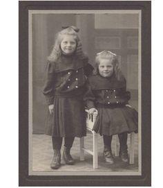 Pretty Little Girls Twins Sisters Cabinet Photo c1905 Child Fashion | eBay