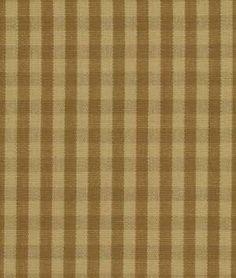 Robert Allen Oscar Check Camel Fabric - $28.15 | onlinefabricstore.net