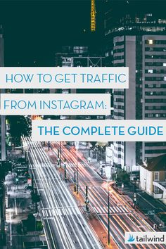 The Complete Guide to How to Get Traffic from Instagram via @tailwind #instagrammarketing #instagrammarketingtips #instagrammarketingideas #instagramforbusiness #instagramengagement #instagramtools Social Media Marketing Business, Content Marketing Strategy, Facebook Marketing, Marketing Ideas, Internet Marketing, Online Marketing, Online Business, Digital Marketing, Instagram Schedule