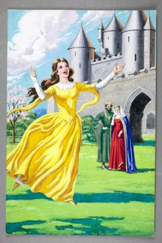 The princess plays in the garden- Sleeping Beauty.  Author: Vera Southgate Illustrator: Eric Winter (1965)