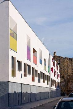 12 Maisons de Ville, Bordeaux, France by Agence Bernard Bühler Architects