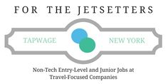 Non-Tech Entry-Level and Junior Jobs at Travel-Focused Companies