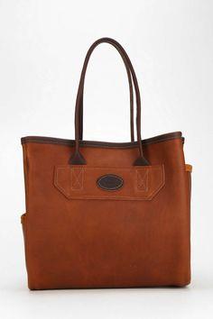Leelanau Trading Co. Leather Tote Bag - Urban Outfitters
