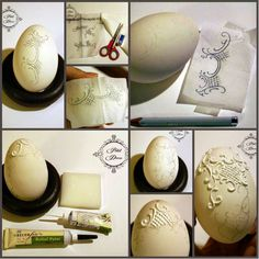 Best 12 DIY How to Make this Reliëf Egg Art. Not only for Easter but a great DIY for Christmas Ornaments too – SkillOfKing. Easter Egg Crafts, Easter Eggs, Egg Shell Art, Carved Eggs, Deco Originale, Free To Use Images, Diy Ostern, Dragon Egg, Egg Designs
