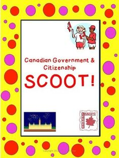 Canadian Government & Citizenship Scoot - A fun way to assess what your students know about this topic before, during, or after this unit! $ Ontario Curriculum, Social Studies Curriculum, Social Studies Activities, Teaching Social Studies, Canadian Social Studies, Government Lessons, Teacher Lesson Plans, Sixth Grade, Social Science