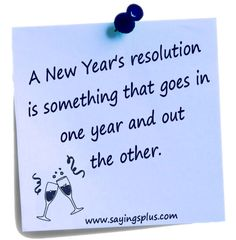 Funny collection of new years quotes