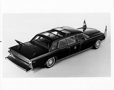 1969 Lincoln Continental Presidential Limousine