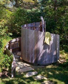 Экологичный летний душ