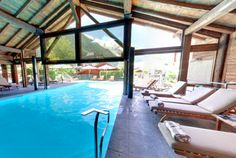 Top Ski hotel France - Le Hameau Albert Chamonix France at the base of Mont Blanc Jacuzzi, Top Ski, The Mont, Most Luxurious Hotels, Chamonix, Ski Vacation, Best Spa, Skiing, Europe