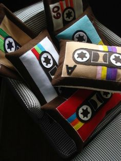 Cassette pillows!