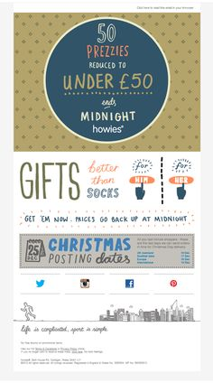 Beautiful Email Newsletters » Blog Archive » 50 Prezzies