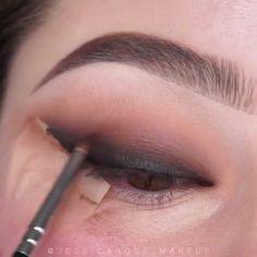 Makeup Eye Looks, Eye Makeup Steps, Beautiful Eye Makeup, Amazing Makeup, Easy Eye Makeup, Almond Eye Makeup, Eye Makeup Images, Pretty Eye Makeup, Basic Makeup