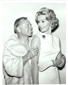 ABC TV studio show photo 1960s MICKEY ROONEY Dina Merrill