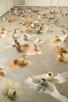 Ceramicist of the month: Karin Lehmann's slowly moving ceramics installation