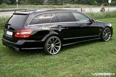 Vossen Wheels - Mercedes Benz E Class - Vossen Mercedes E55 Amg, Merc Benz, Audi Rs5, Benz E Class, Bmw M4, Station Wagon, Ford Mustang, Cool Cars, Dream Cars