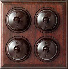 Bakelite light switch