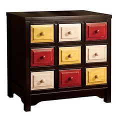 Woodstock III Chest - 9 Drawers at HSN.com.