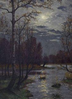 K.Böhm - Moonlit Landscape