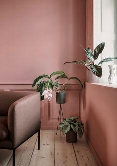 Earth Colours: Interior Ideas Inspiration brown red orange terracotta