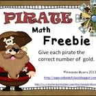 FREE. This is a sample activity from the full Pirate Math Work Station unit. This activity includes the numbers 1 to 10.