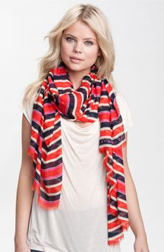 MARC BY MARC JACOBS 'Jacobson Stripe' Scarf