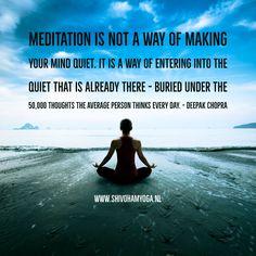 Meditation: entering into the quiet #deepakchopra ♡ http://www.shivohamyoga.nl/ #inspiration #5d #quotes #loveandlight #love #yoga #wisdom #ShivohamYoga #namaste #metaphysical #instagood #mindfulness #esoteric #healing #indigo #raisethefrequency #starseed #happy #beautiful #starchild #raisethevibetribe #instadaily #lightworker #motivate #spirituality #vegan #energy #soul ॐ