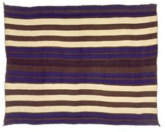 Gorgeous Navajo First Phase Chief's blanket, 1840-1860.