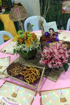 Get some inspiration on how to throw a Filipino-themed party! Fiesta Decorations, Birthday Decorations, Fiesta Theme Party, Party Themes, Party Centerpieces, 80th Birthday, Festival Party, Best Friend Gifts, Diy Party
