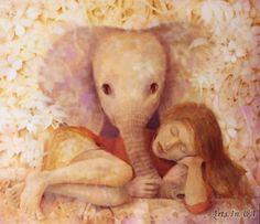 Утренний слон