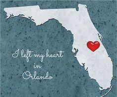 I left my heart in Orlando