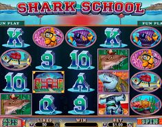 Shark School free #slot_machine #game presented by www.Slotozilla.com - World's biggest source of #free_slots where you can play slots for fun, free of charge, instantly online (no download or registration required) . So, spin some reels at Slotozilla! Shark School slots direct link: http://www.slotozilla.com/free-slots/shark-school
