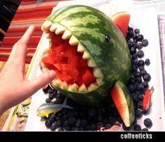 watermelon shark.... so much easier and effective... than the whale I did!