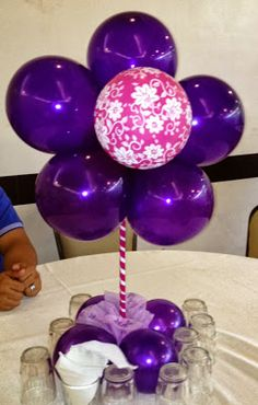 Purple Balloon Color Discovery I Love