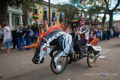 Evil Unicorn Art Bike Parade Float by Kolossos on Etsy