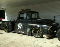 Not a Jailbar, but I dig the race truck theme. #classictrucks
