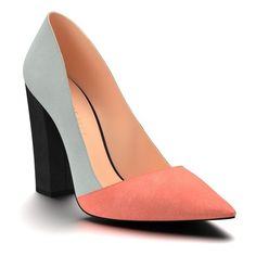 Main Image - Shoes of Prey Block Heel Pump (Women) Source by curvyroadrunner women shoes Source by ShirleyShoesFashion de mujer azules Color Block Shoes, Block Heel Shoes, Women's Pumps, Suede Pumps, Grey Pumps, Leather Pumps, Hipster Shoes, Shoe Boots, Women's Shoes