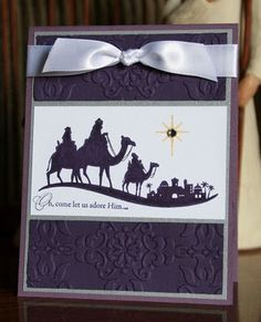 Stampin' Up! Christmas Come To Bethlehem