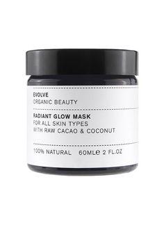 Evolve Raw Cacao & Coconut Radiant Glow Mask - Evolve