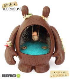 Morrow Treehouse Custom Vinyl Toy