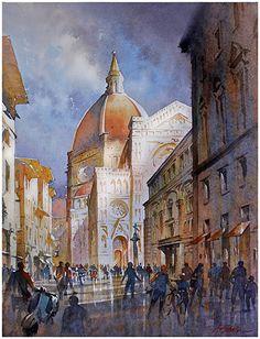 Duomo - Firenze by Thomas  W. Schaller