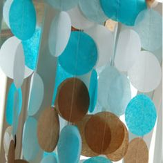 window decorations...these are available at a party store...wonder how I could make this?!?!  Wouldn't it be cute hanging over a reading area or in a window?