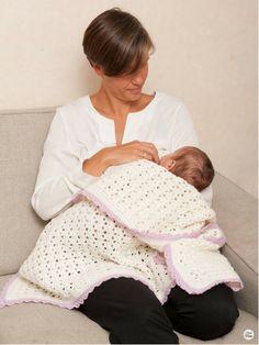Selje Sommernatt babytepper, 2 størrelser - Hekleguri Design Pdf, Design, Decor, Decoration, Decorating, Deco