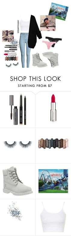 """""""Johanne❤️"""" by ruthmary-hemnes on Polyvore featuring H&M, tarte, Bobbi Brown Cosmetics, Givenchy, Urban Decay, Timberland, Topshop, women's clothing, women and female"""