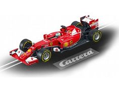 The Carrera 1/32 Ferrari F14 T F.Alonso, No.14, is a superbly detailed Carrera Evolution slot car for use on any 1/32 analogue slot car layout.