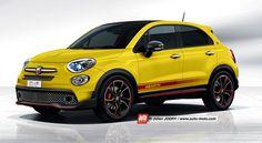 La Fiat 500 X va connaitre une version Abarth en 2016. Future concurrente de la Mini Countryman Cooper S, découvrez-là en exclusivité sur auto-moto.com