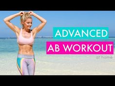 Advanced Abs - 10 MINUTE SIX PACK WORKOUT | Rebecca Louise - YouTube