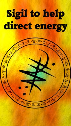 Sigil to help direct energy